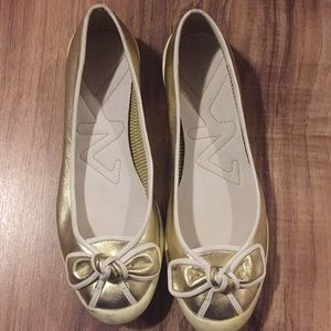 Anne Klein Sport gold shoes